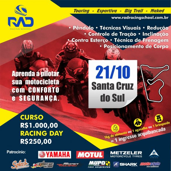 21/10 – Santa Cruz do Sul